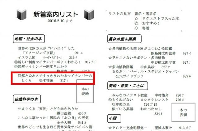 20160215_090000_いろは通信~庄和高校図書館だより No.251~2016年2月15日第9号発行